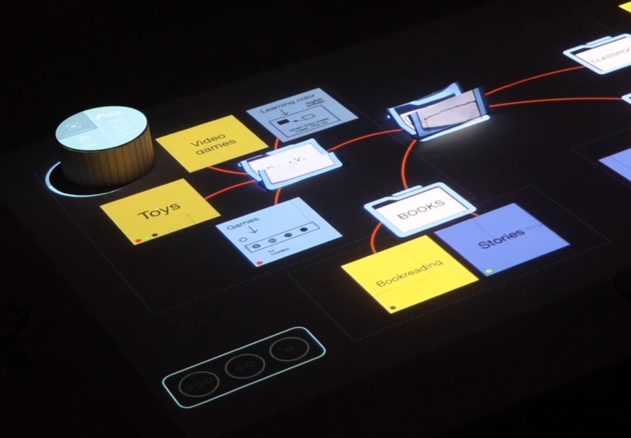 Tangible UI: Collaborative Ideation