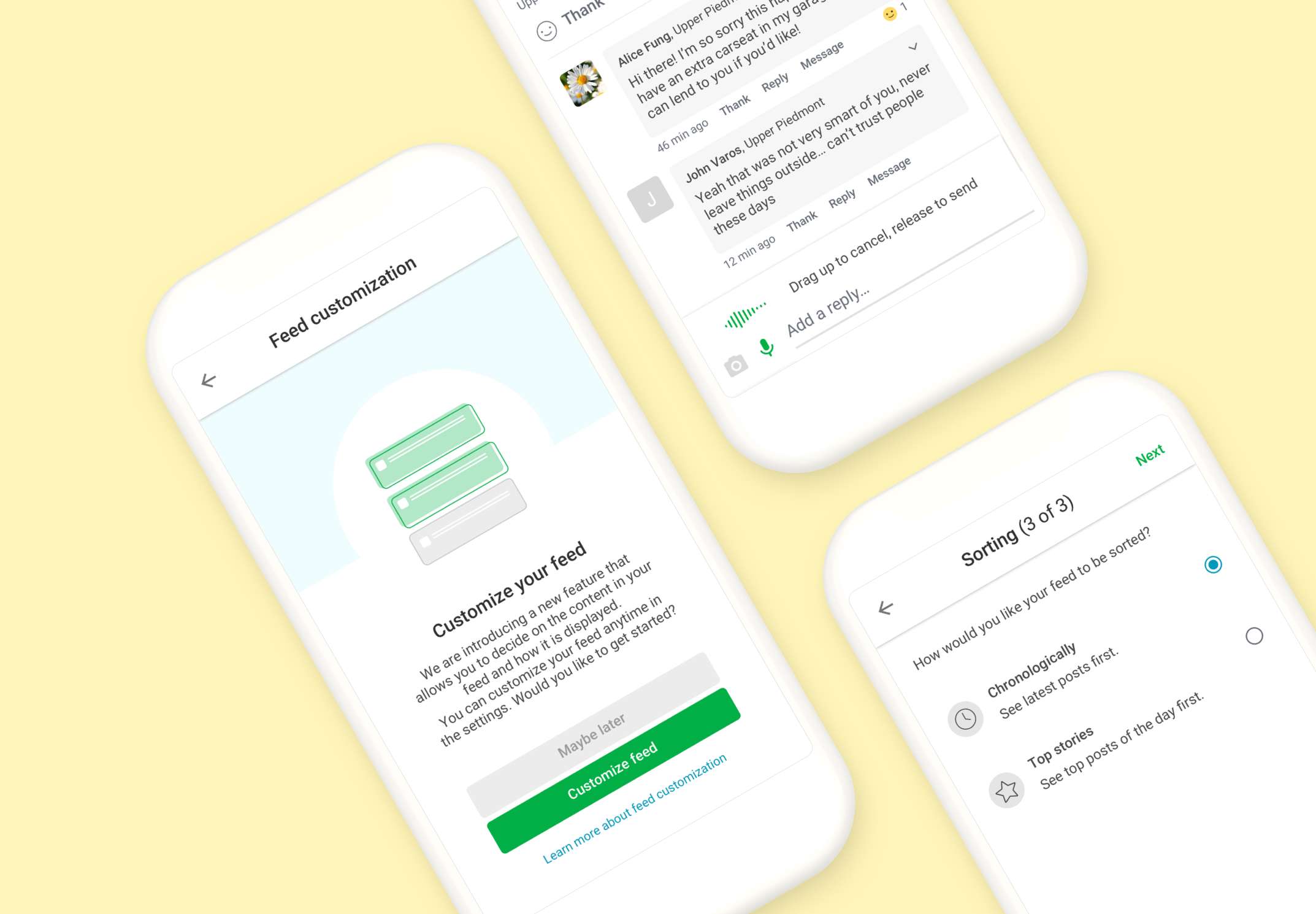Nextdoor Redesign